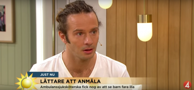 Axel berättar om Orosanmälan.se